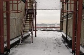"""АО """"ВНИИАЭС"""" испытание ограждений и лестниц"""
