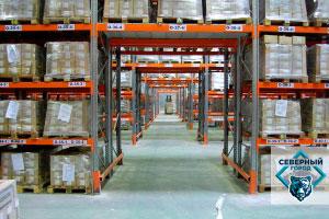 Испытание грузовых стеллажей